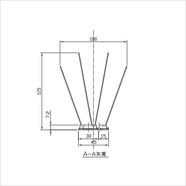 BF3バードピンスタンダード図1