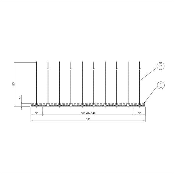 BF3バードピンスタンダード図3