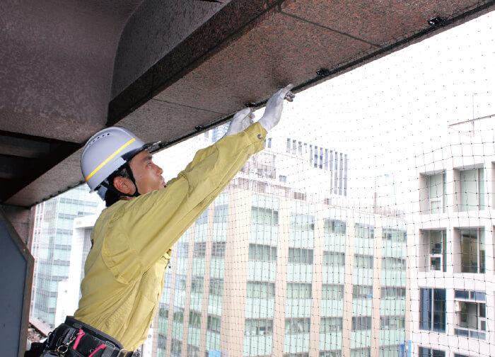 工事スタッフによる取付イメージ