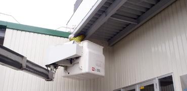 工場・倉庫などでの鳥害対策写真その3