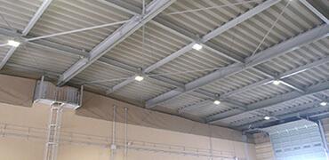 工場・倉庫などでの鳥害対策写真その4