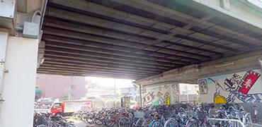 橋梁・高架下などでの鳥害対策写真その1