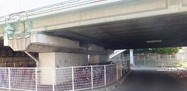 橋梁・高架下などでの鳥害対策写真その2