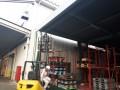 倉庫出入口ネット設置工事 施工写真サムネその4