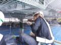 防鳥ネット設置工事 施工写真サムネその2